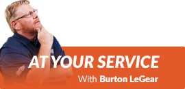 At Your Service With Burton LeGear